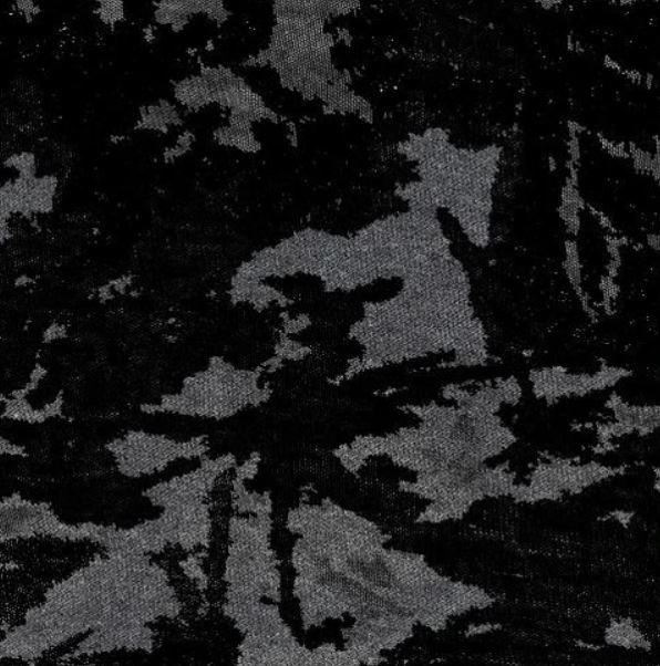 Back/Grey #S Amanda Burnout Jersey Print Knit #60