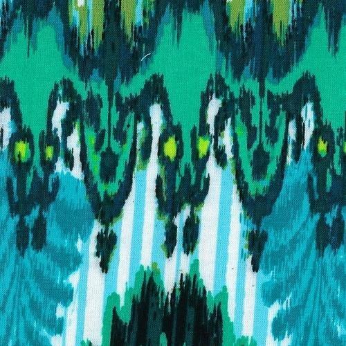 Green Forest Challis Print Woven