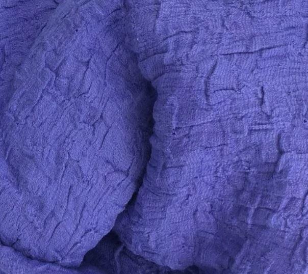 Ribbon Jersey Spandex Pucker Knit, Cotton/Poly/Spandex, 56/58