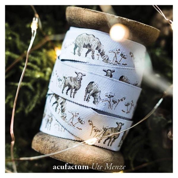 Acufactum Sheep Woven Ribbon