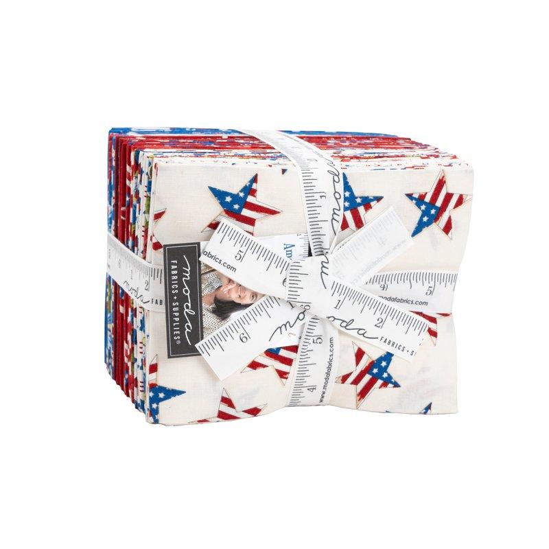 America The Beautiful Fat Quarter Bundle by Deb Strain for Moda