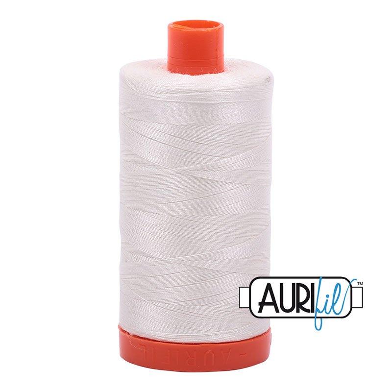 AURIFIL 6722 Sea Biscuit  MAKO 50 Weight 1300m 1422y Spool Cotton Quilting Thread