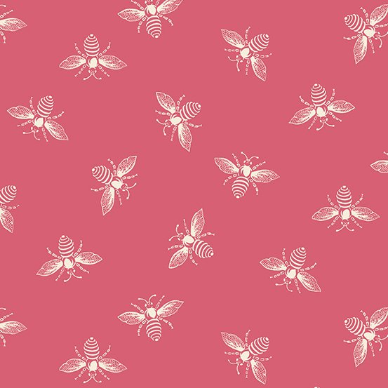 Punch Bees from the French Bee Collection by Renee Nanneman for Andover Fabrics
