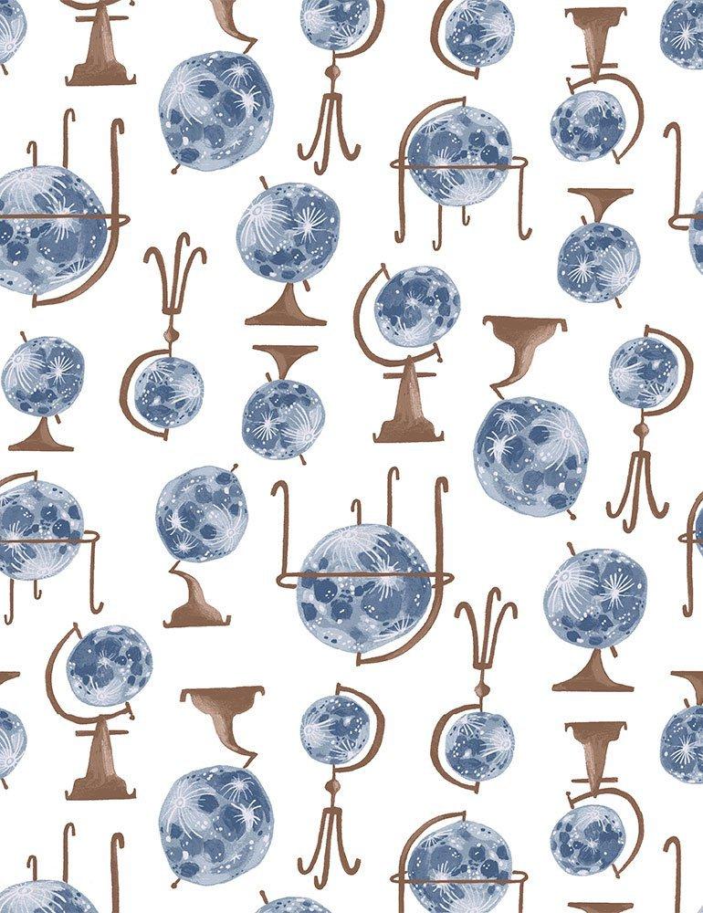 Globes in Blue by Dear Stella