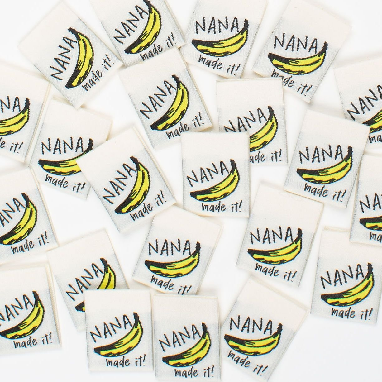 NANA MADE IT Woven Sewing Labels by Kylie and the Machine