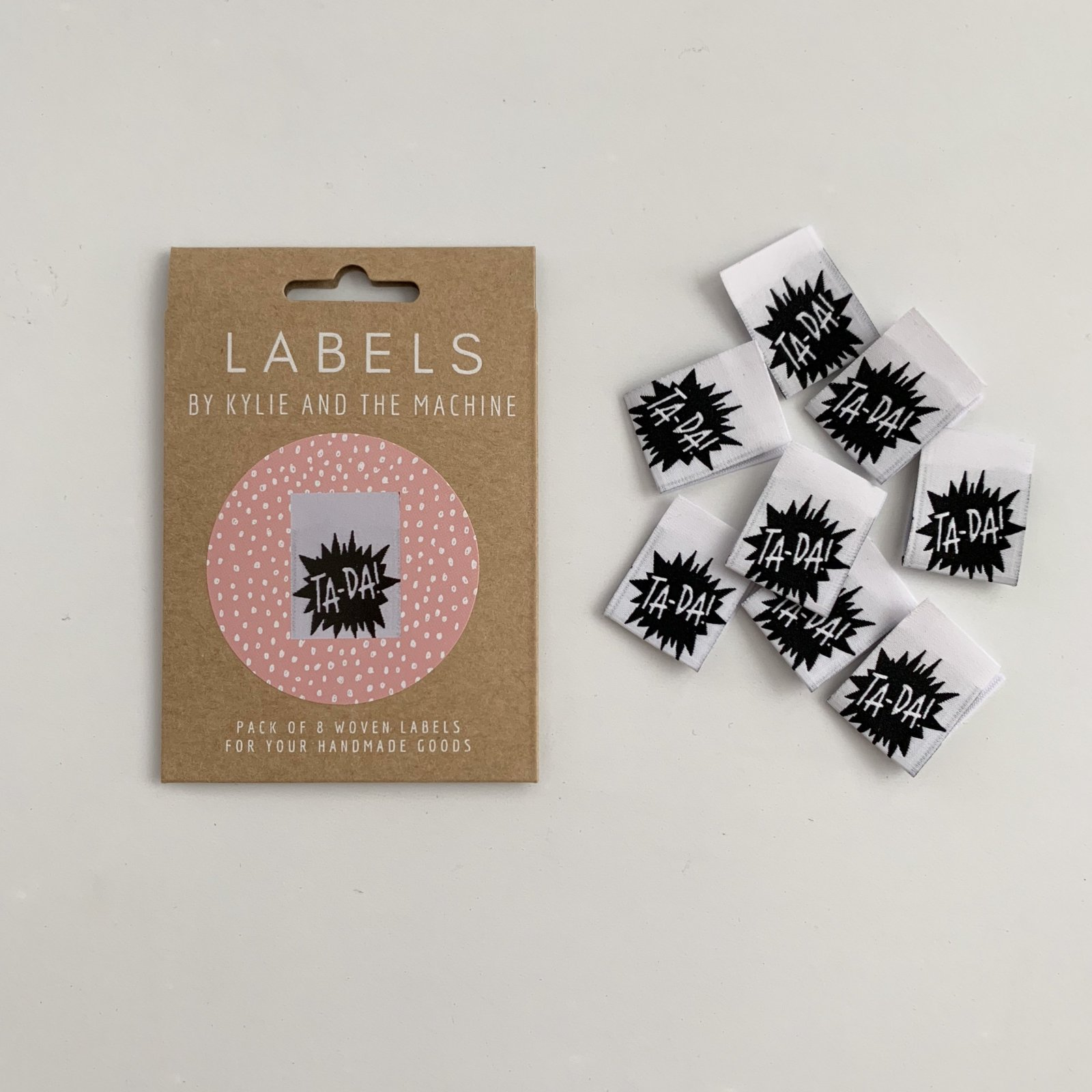 TA-DA! Woven Sewing Labels by Kylie and the Machine