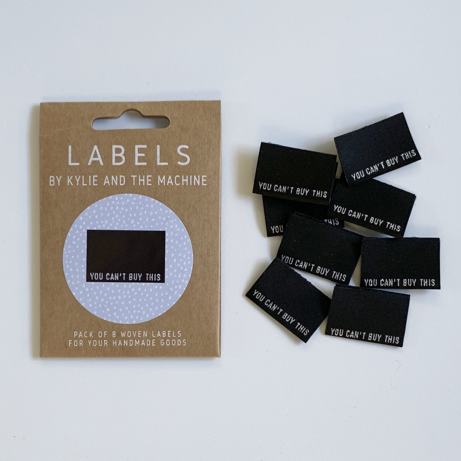 YOU CAN'T BUY THIS Woven Sewing Labels by Kylie and the Machine