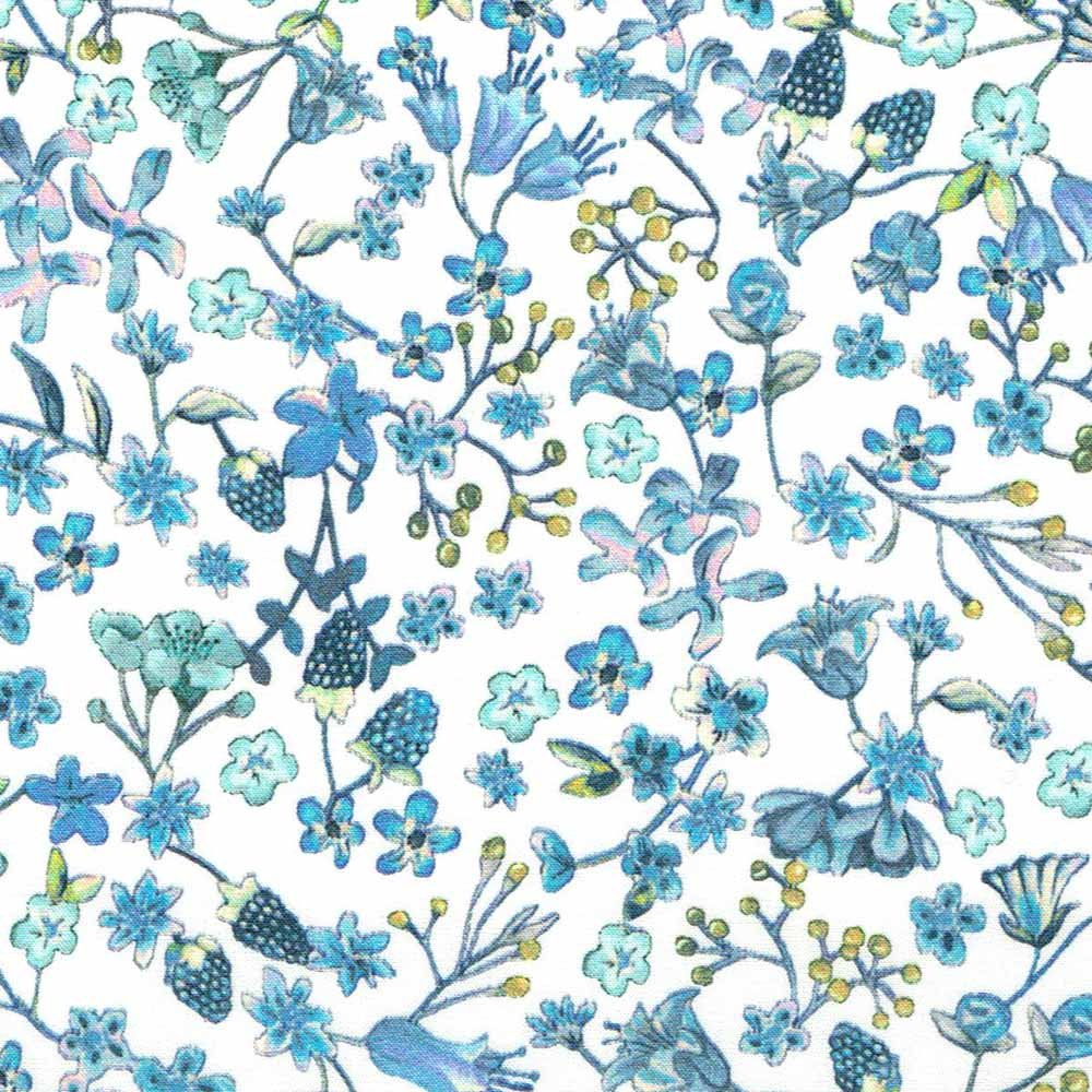 Liberty of London Organic Tana Lawn Donna Leigh in Blue