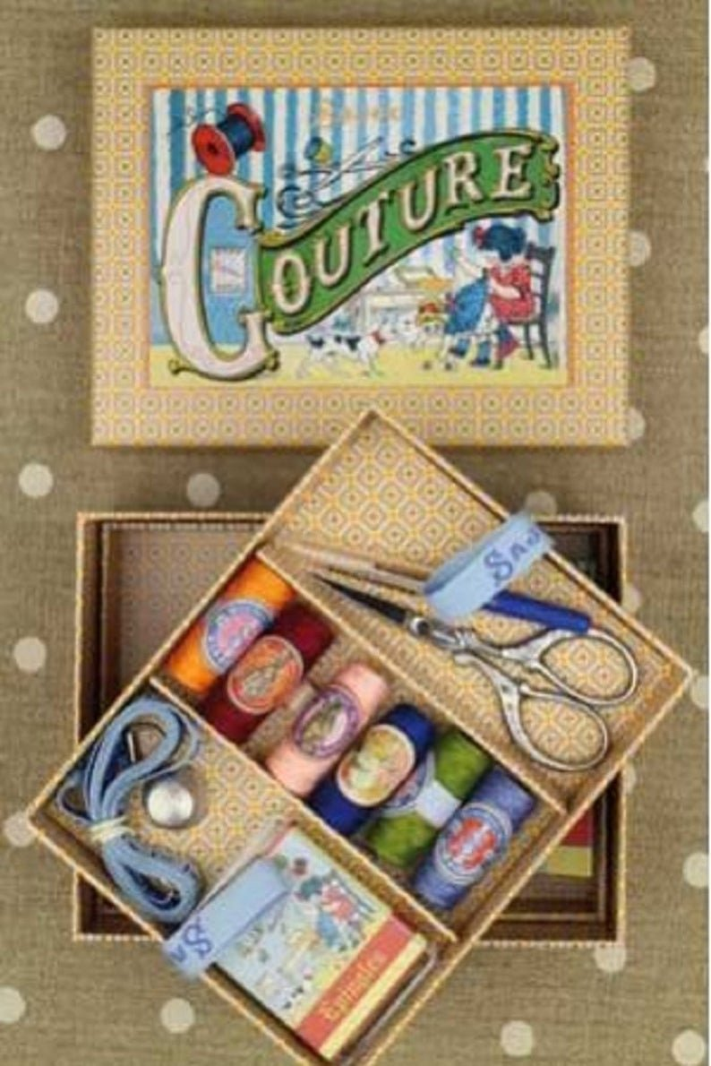 Sajou DELUXE Little Girl Sewing Set Complete