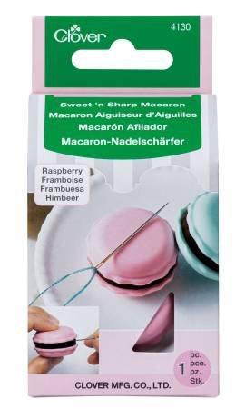 Sweet 'n Sharp Macaron Needle Sharpener -- Raspberry