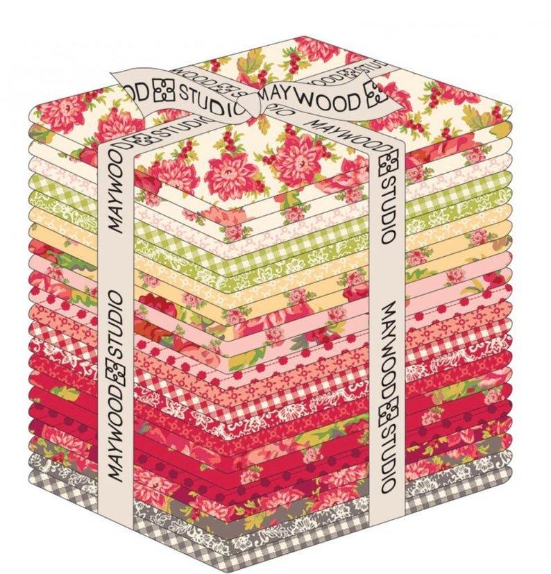 Sweet Beginnings Fat Quarter Bundle by Jera Brandvig for Maywood Studios