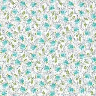 Floral Bouquet Gray