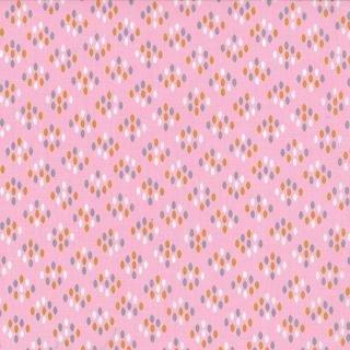 Floral Cluster Drops Pink