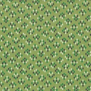 Floral Cluster Drops Light Green