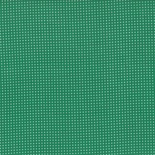 Floral Dots Emerald Green