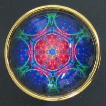 Susan Clarke - Paperweight 1 1/2 High Dome