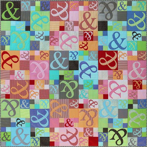 Ampersand Quilt Pattern and Templates