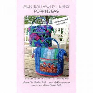aunties two poppins bag