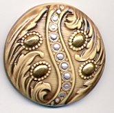 Susan Clarke - Art Stone 1 9/16 Buttercream