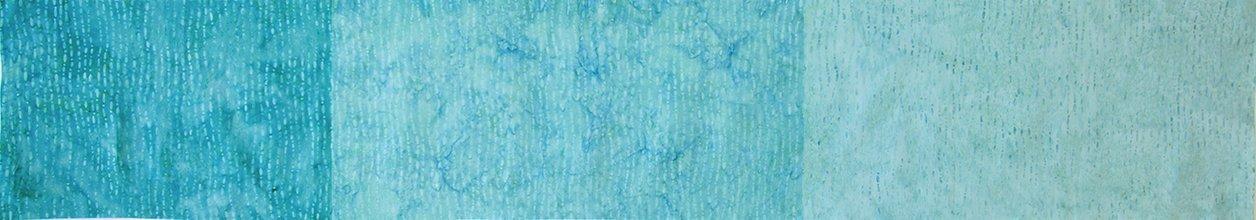 Colorfall Beaded Ombre Batik - Sapphire