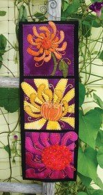 Chrysanthemum Wall Hanging