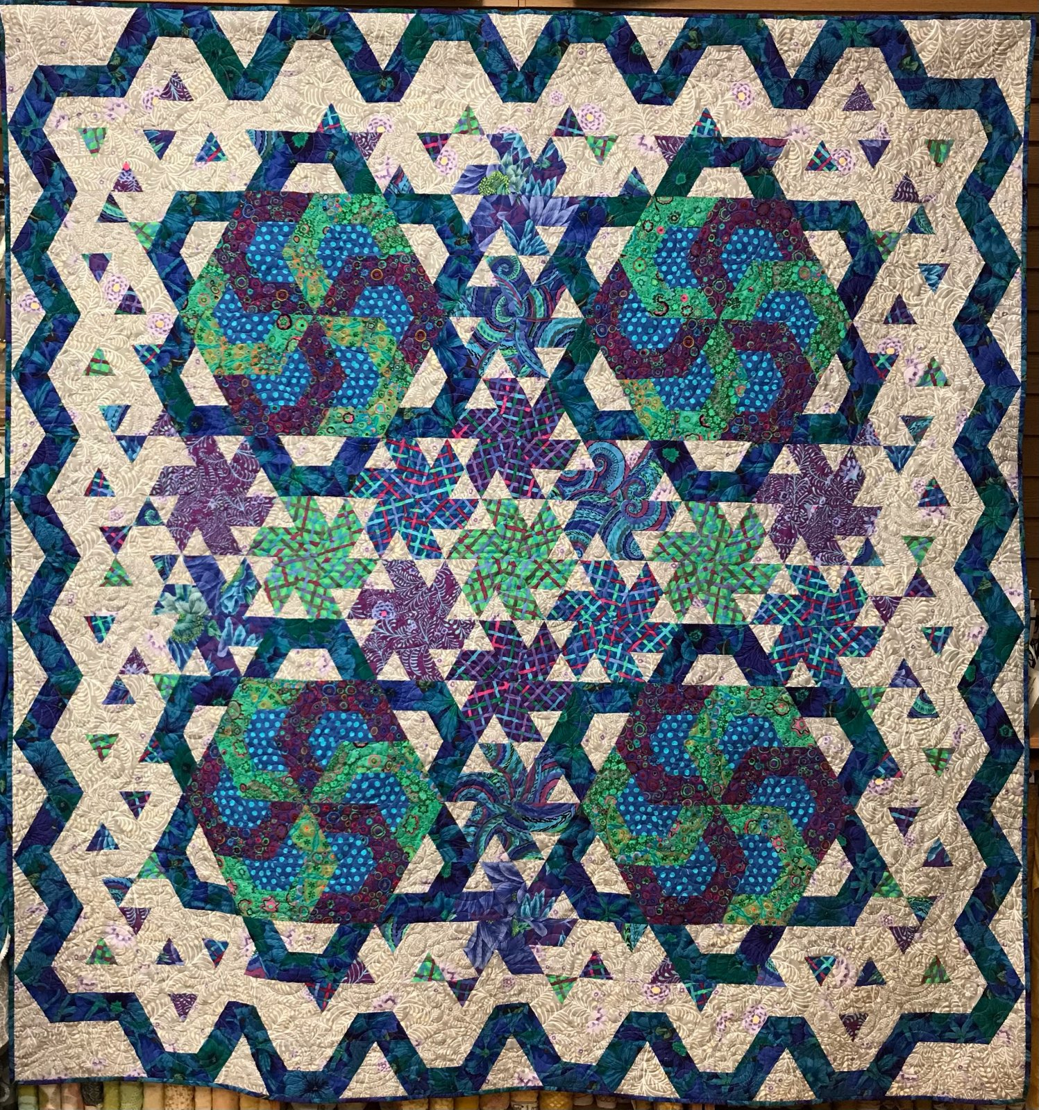Kaffe Mosaic Mystery Quilt III Kit