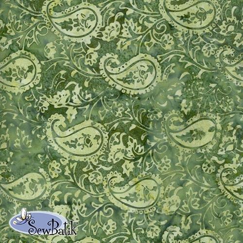 Sew Batik Rayon - Legacy - Ivy