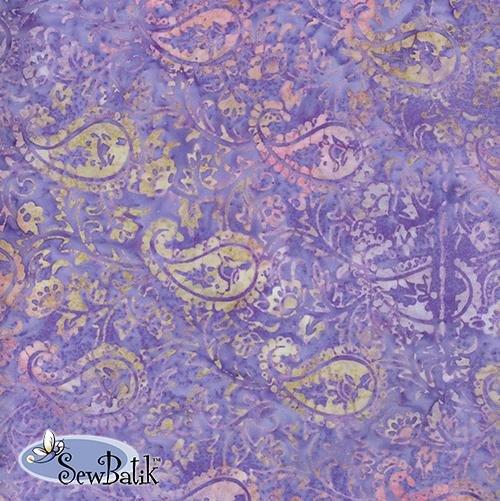 Sew Batik Rayon - Legacy - Lilac