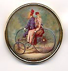 Susan Clarke - 1 1/2 High Dome Bicycle for 2