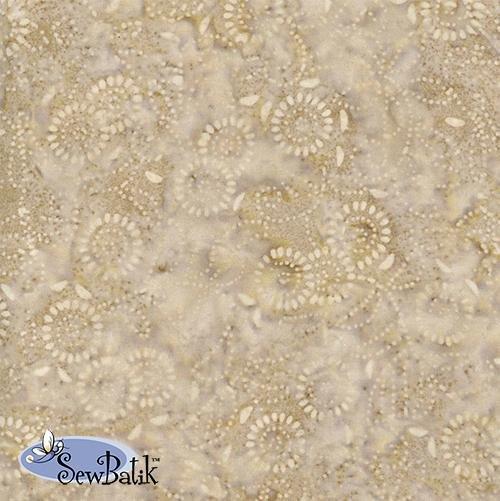Sew Batik Rayon - Medora Flora - Linen