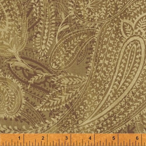 Paisley Gold - 108 wide