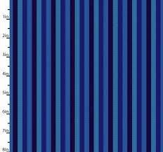 Peppered Stripes Indigo/Teal