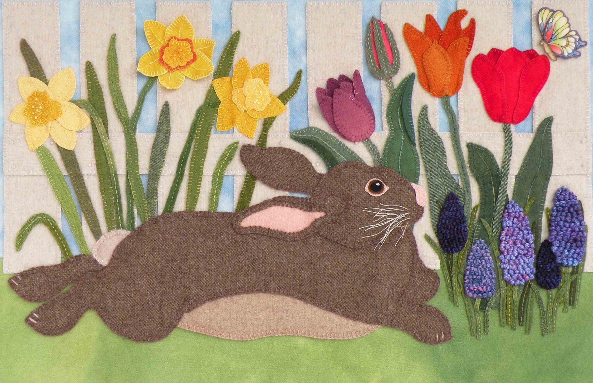 Spring Garden Visitor - Wool