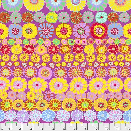 Row Flowers - Pink