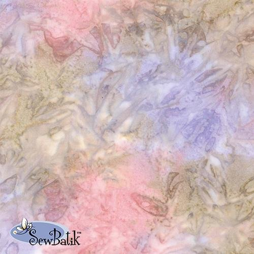 Sew Batik Rayon - Spray - Cotton Candy