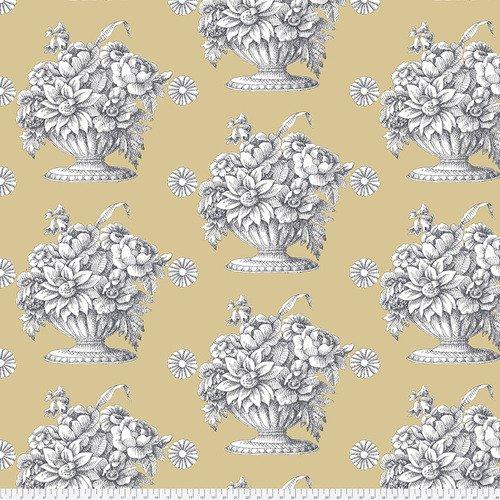 Stone Flower - Beige 108 wide