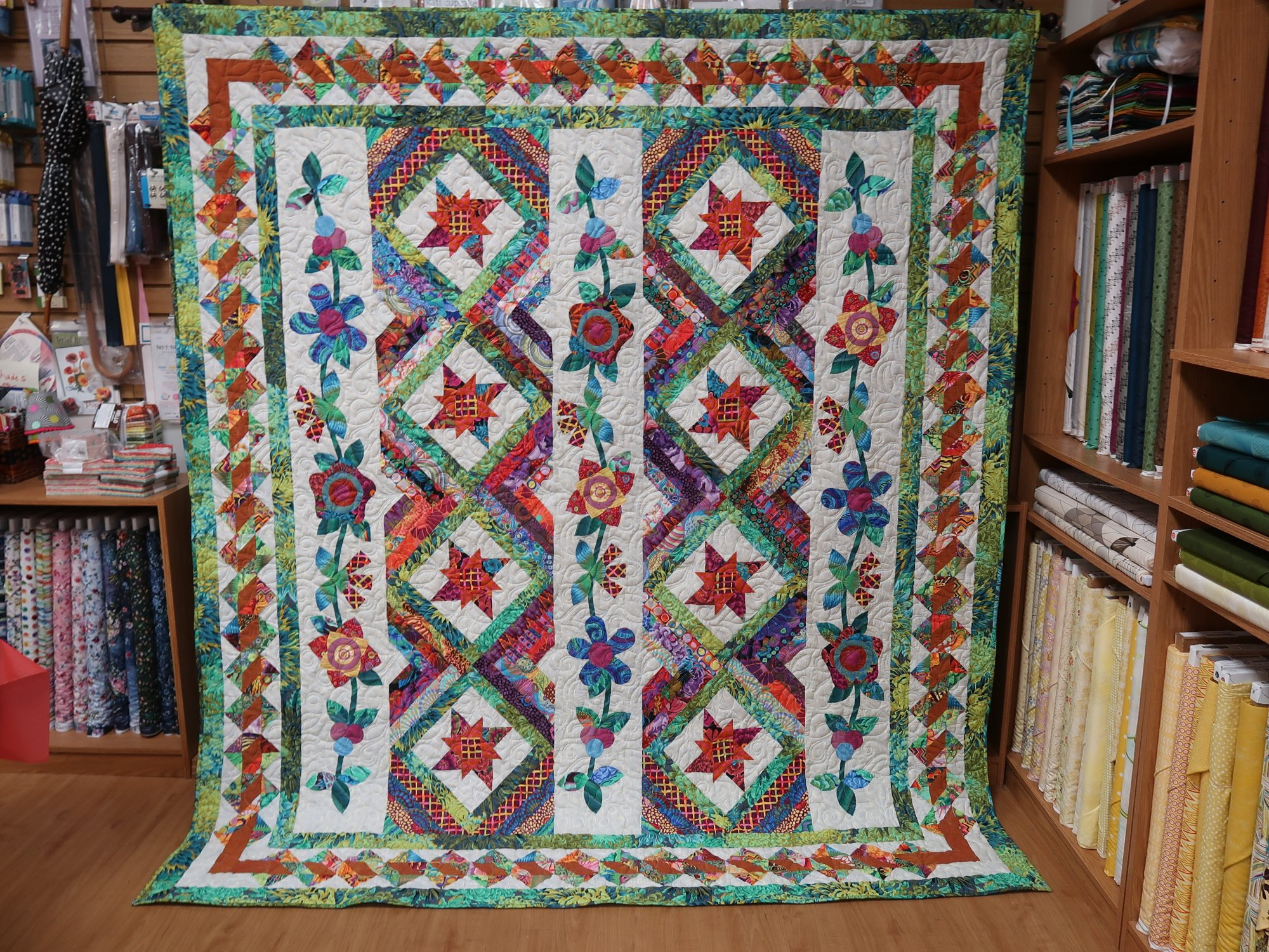 KAFFE Summer Garden Quilt Kit