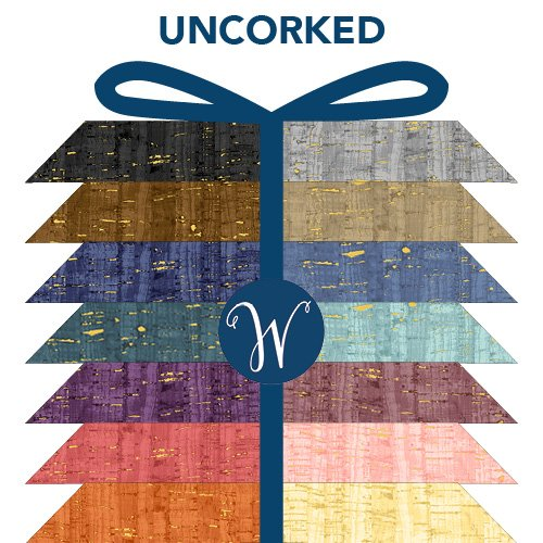 Uncorked - 24 Fat Quarters