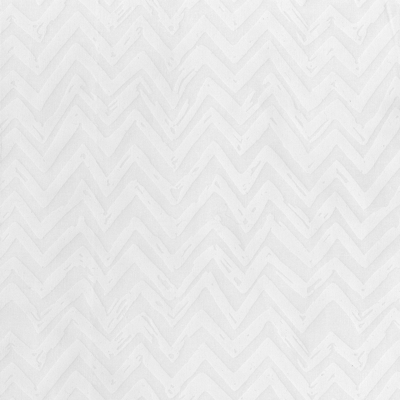 Whisper Chevron - White/White