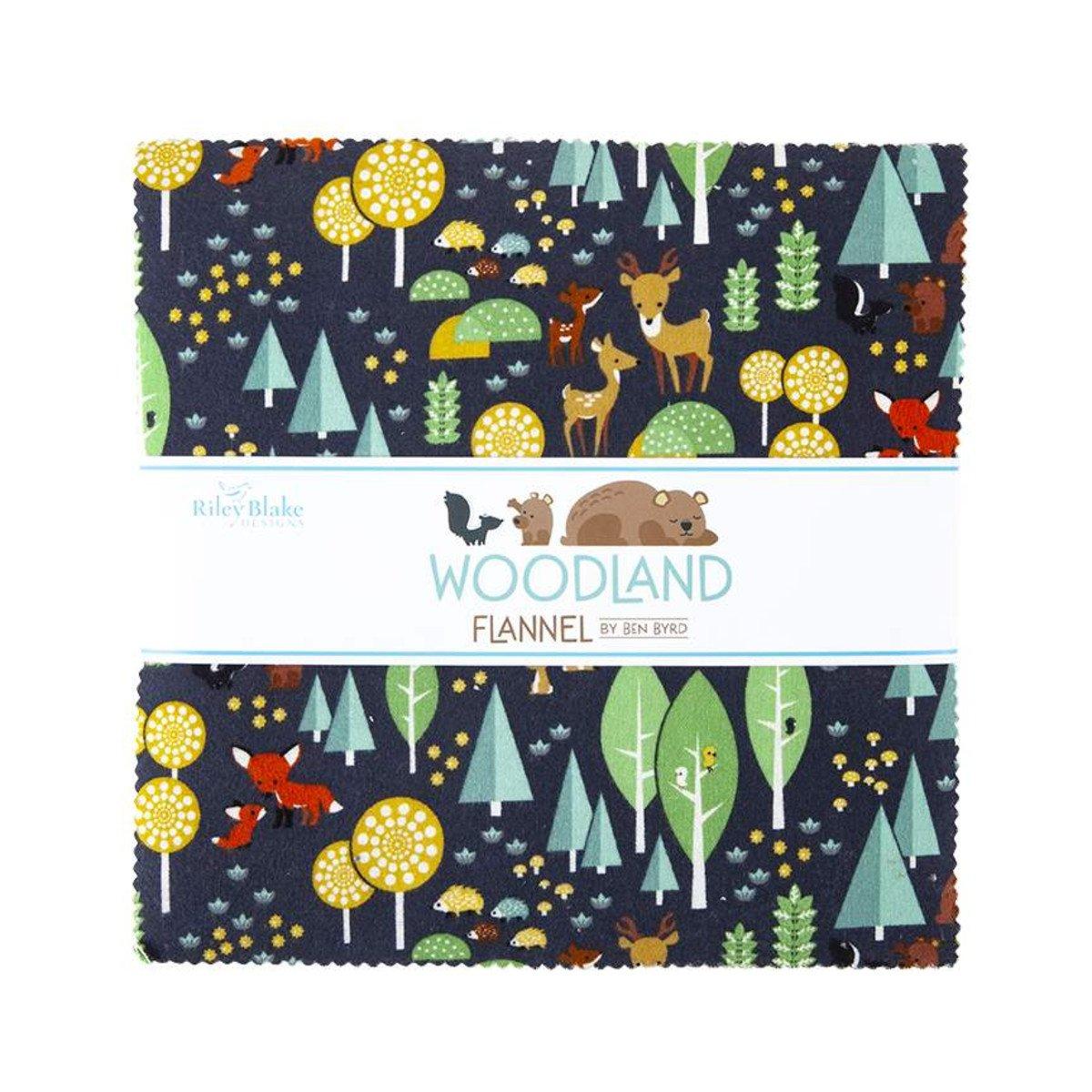 Woodland Flannel 10 Stacker