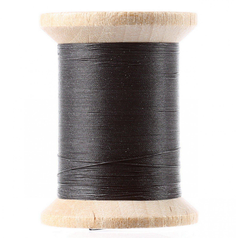 Cotton Hand Quilting Thread 3-Ply 500yd Black