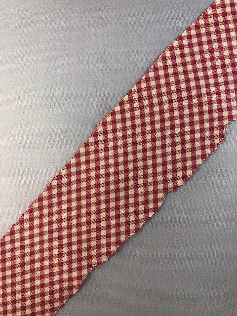 Cotton Fabric Ribbon - 2 width