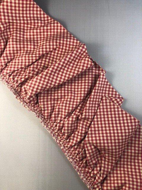 Cotton Fabric Ruffle - 4 width