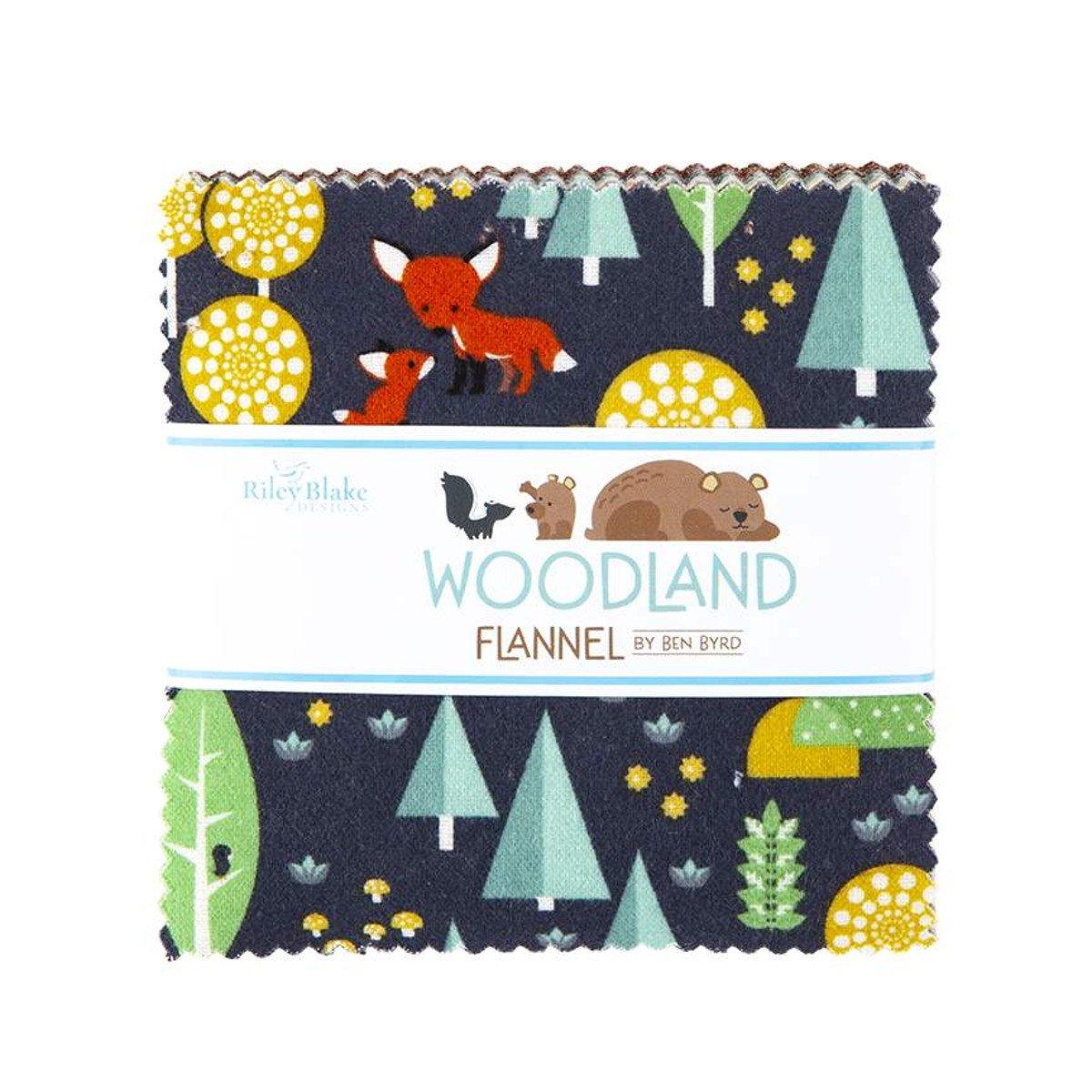 Woodland Flannel 5 Stacker