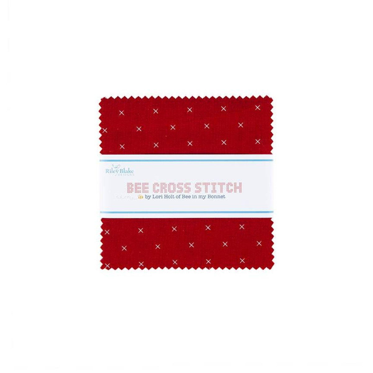 Bee Cross Stitch 5in Squares, 42pcs