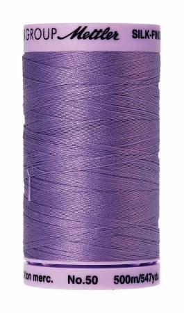 Silk-Finish 50wt Solid Cotton Thread 547yd/500M English Lavender