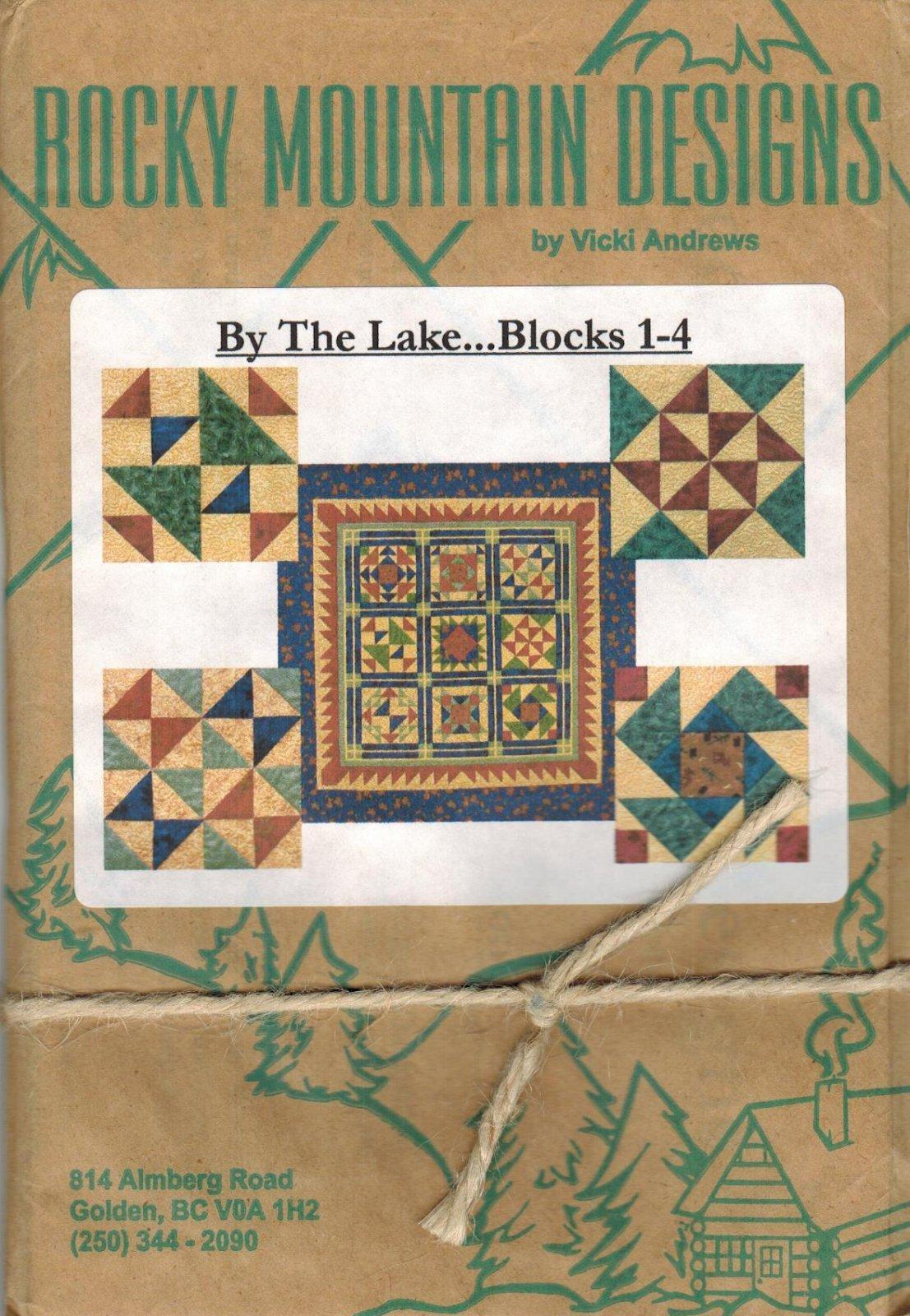 By The Lake....Blocks 1-4