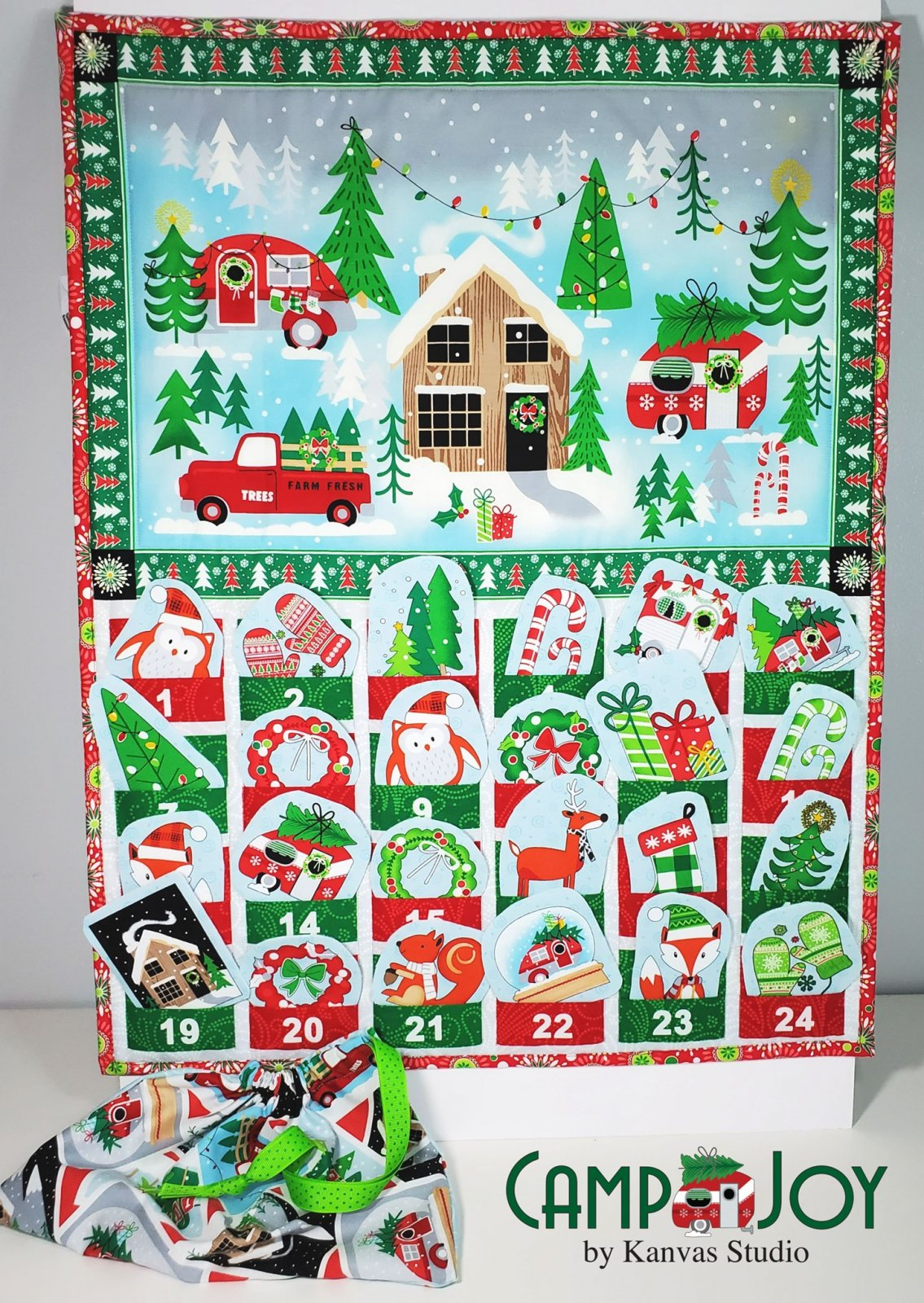 Multi Camp Joy Advent Panel