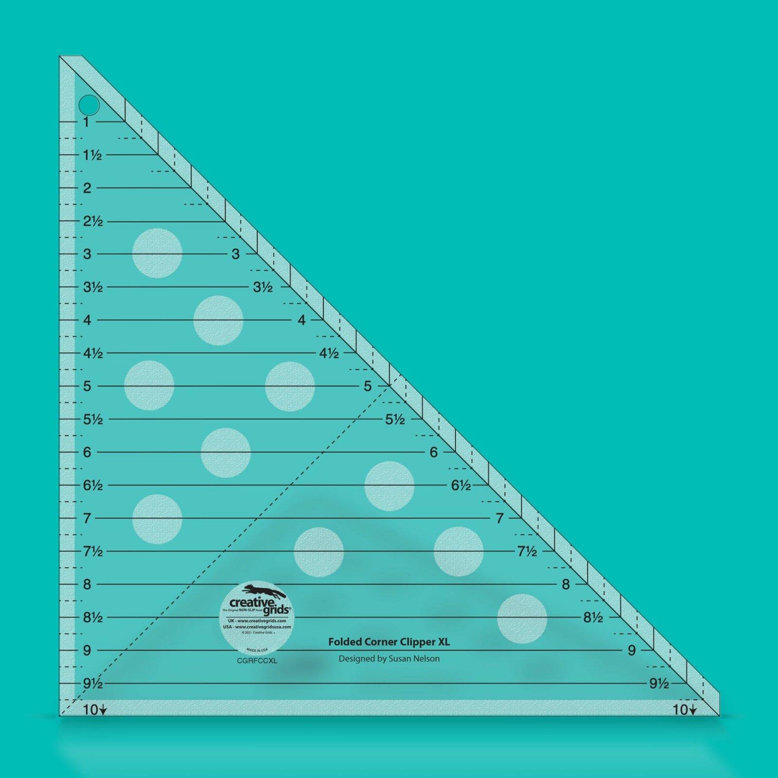 Creative Grids Folded Corner Clipper Tool XL