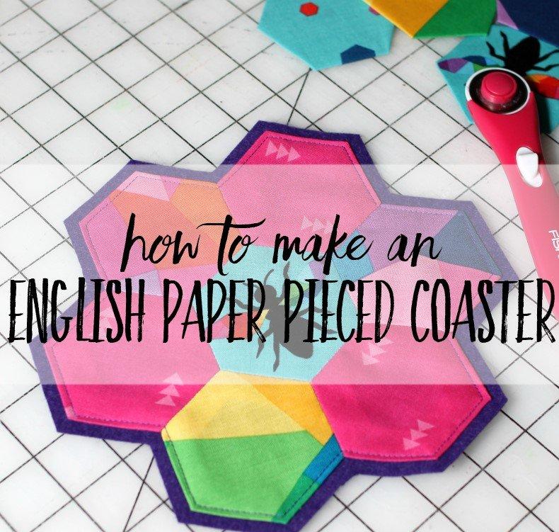 English Paper Pieced Coaster Kit